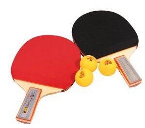 JZK® Tischtennis-Set 2x Schläger Table Tennis Racket Tischtennis-Schläger und...