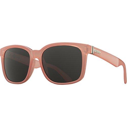 VonZipper Unisex Howl Sunglasses, B4BC Coral Gloss/Grey, One - Sunglasses Coral