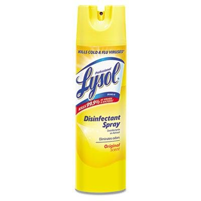 Professional Lysol Brand - 3 Pack - Disinfectant Spray Original Scent 19 Oz Aerosol Can