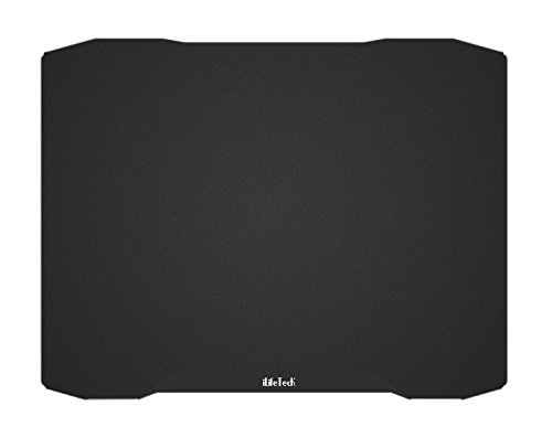 "iLifeTech Aluminum Gaming Mouse Pad Extended and Dual Sided Super Gliding for Professional PC Gamer(14.17""x11"" Black)"