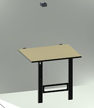 Banco tavolo da lavoro pieghevole a muro 100 x 80 x (h)85 cm ...