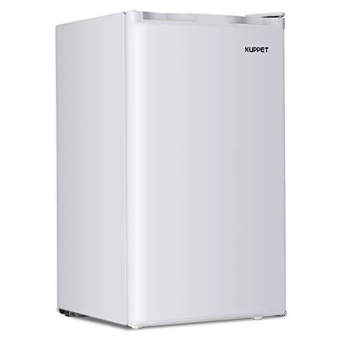 Kuppet Compact Refrigerator Mini Refrigerator Small Drink Food Storage Machine for Dorm
