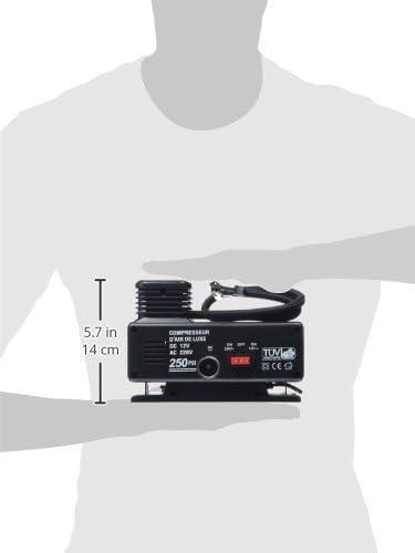 Peraline 1038 Mini Compressor 12 220 V Auto