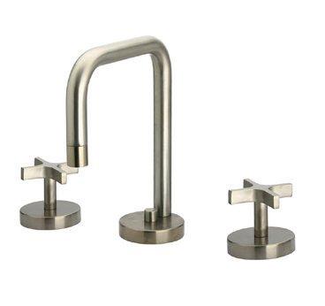 Lavatory Faucet Metrohaus Widespread - Metrohaus 5.88 in. Widespread Lavatory Faucet (Polished Chrome)
