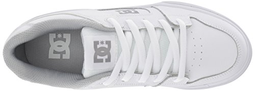 Pictures of DC Pure Elastic Skate Shoe White 5 M US Big Kid ADBS300385 2