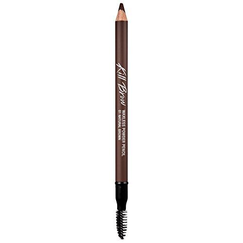 CLIO Kill Brow Waxless Powder Pencil 1.19g 001 NATURAL BROWN ()