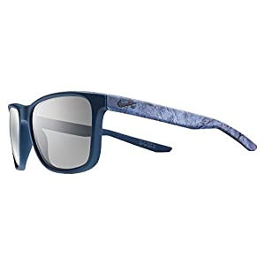 Nike Golf Unrest SE Sunglasses, Matte Squadron Blue/Deep Pewter Frame, Grey Lens