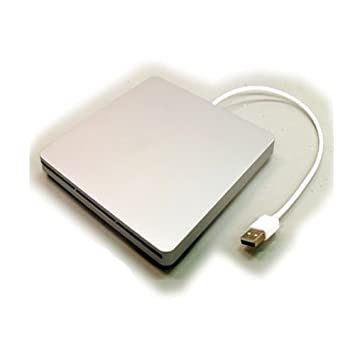 Bipra - Caja para lector de DVD/RW para MacBook Pro (conector de puerto SATA a puerto USB), color plateado