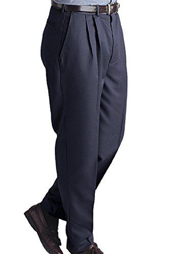 Zipper Front Pleated Dress - 8