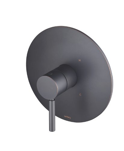 Orb Pressure Balance Shower - Isenberg UF.2202ORB Universal Fixtures 1-Way Pressure Balance Valve and Shower Trim, UF.2202, Oil Rubbed Bronze