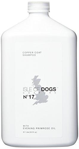 Scent Freesia Signature - Isle of Dogs Coature No. 17 Copper Coat Evening Primrose Oil Dog Shampoo for Brown Dogs, 1 Liter