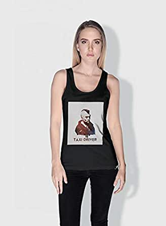 Creo Taxi Driver Movie Posters Tanks Tops For Women - S, Black
