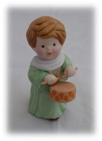 Avon Heavenly Blessings Nativity Collection Drummer Boy - Nativity Blessings Collection