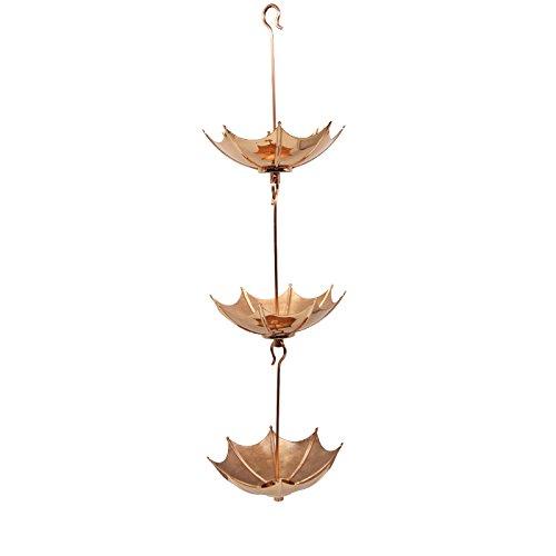 Umbrella Pure Copper Rain Chains GBGRC01052