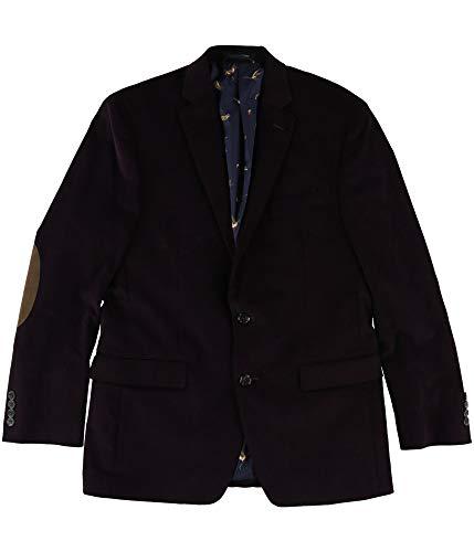 - New Ralph Lauren Plum Stretch Corduroy Elbow Patch Sport Coat Blazer Jacket 40R