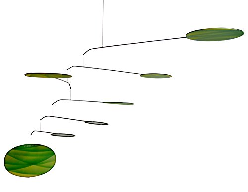 Green Canopy Modern Indoor Mobile, Horizontal Style, 22'' x 42'', American Made by Modern Artisans (Image #1)