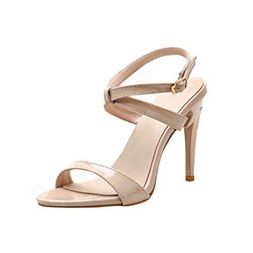 6a6c74f7180 SHOPUS   Midress Women's Fashion Stilettos Open Toe Pump Heel ...
