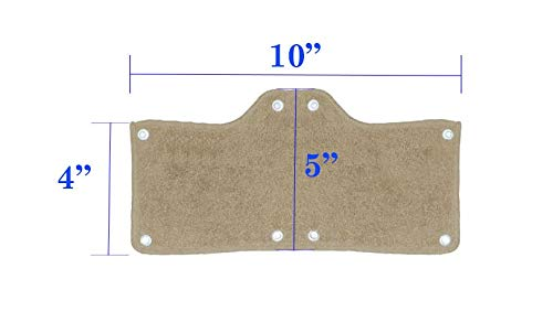 200 Pack Best Hard Hat Sweatband Beige Washable Snap On Sweat Band Liner Safety Accessories by Tuff America (Image #2)