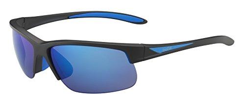 Bollé Breaker Lunettes de soleil Breaker Matte Black/Blue Polarized Offshore Blue oleo AR