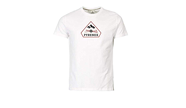 Pyrenex - Camiseta - Cuello Redondo - Manga Corta - para ...