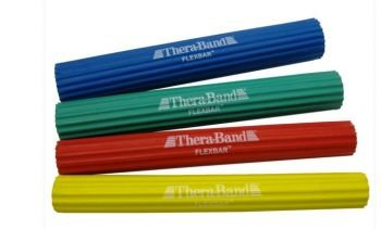 TheraBand FlexBar, Tennis Elbow Therapy Bar, Relieve Tendonitis Pain & Improve Grip Strength, Resistance Bar for Golfers Elbow & Tendinitis from Hygenic Corporation