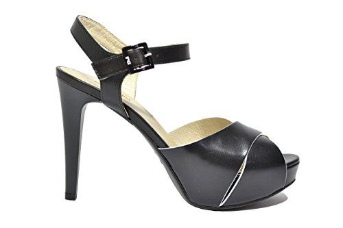 nero Giardini Sandalias zapatos elegante P615790DE 5790 de mujer, color negro
