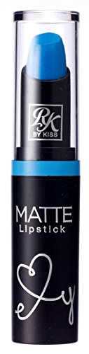 Ruby Kisses Ultra Matte Super Rich Lipstick 3.5g/0.12oz (RMLS21 BLUE LAGOON)