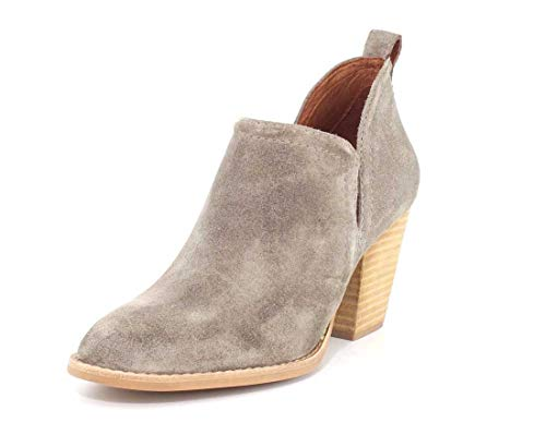 - Jeffrey Campbell Womens Rosalee Taupe Suede Boot - 6.5