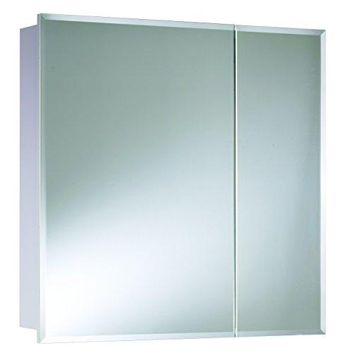 Croydex WC102222AZ Shawdon Double Door Bi-View Cabinet, 30-Inch x 30-Inch, White