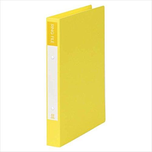[해외]보기 톤 일본: 종이 반지 파일 A4 사이즈 세로 형식 (배 폭 36mm) 옐로우 SRF-A4-Y 20766 / View Tong Japan: paper Ring File A4 format (36mm back width) Yellow SRF-A4-Y 20766