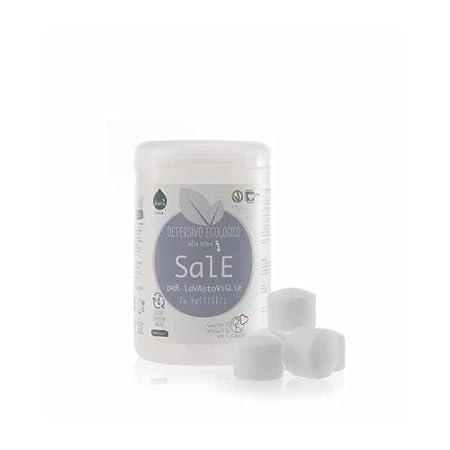 biolù Detergente Sal para lavavajillas Eco Bio 1 Kg con tarro ...