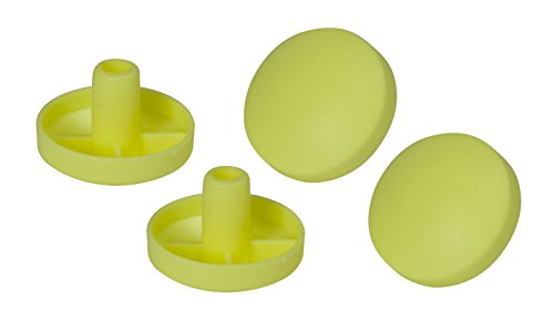 Drive Medical Replacement Tennis Ball Glide Pads for Drive Medical Tennis Ball Glides, Yellow, 4 Count