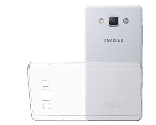 OKCS® TPU involucro Case per Samsung Galaxy A5 incl. Wunderglass® vetro blindato Screenprotector foglio Protector