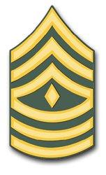 Military Vet Shop U.S. Army 1st Sergeant Window Window Bumper Sticker Decal 3.8