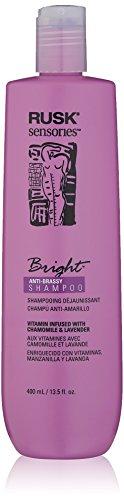 RUSK Sensories Bright Chamomile and Lavender Brightening Shampoo, 13.5 Fl. oz. (Best Shampoo For Brassy Highlights)