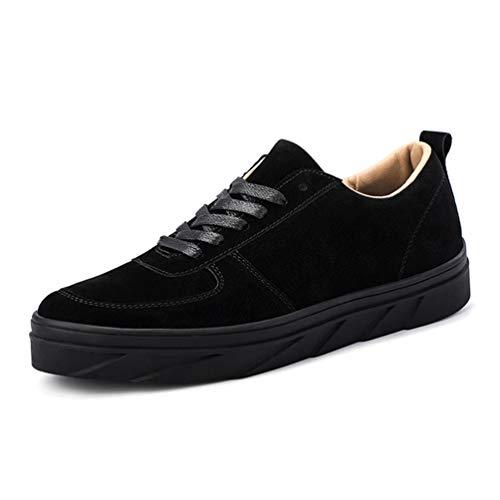 Transpirable De Zapatos Negro Casuales Los Hombres Acuden Zapatillas B5x4q