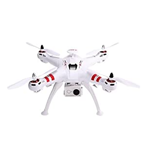 RC Brushless Drone with 12MP HD Live Camera, WiFi GPS and 1000W Motor 51CM Large Quadcopter 6Axis 2.4GHz Upgraded Version from WORRYFREE GADGETS