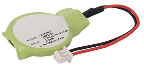 (Synergy Digital Battery Compatible with Evesham ThinkPad T30 CMOS/BIOS Battery (Li-Ion, 3V, 200 mAh) - Repl. Evesham 02K6541 Battery)