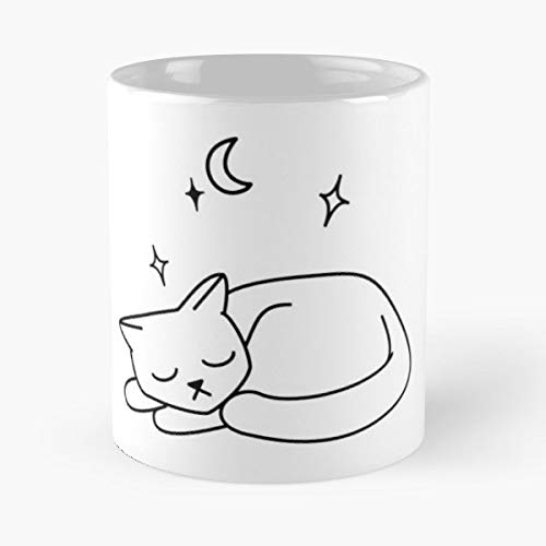 Cat Sleeping Sleepy Kitty Halloween - Funny Sophisticated