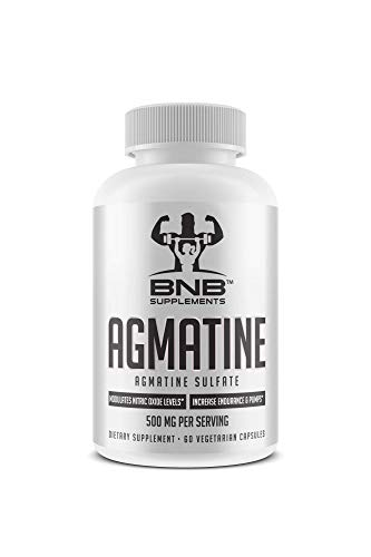 Agmatine Sulfate 500mg (1 Pack)