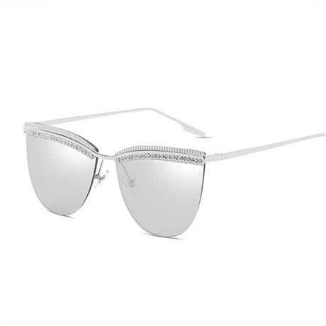 para de Gafas GGSSYY vintage mujer Gafas Beige Gafas doble Amarillo de corte Marco sol de de mujer sol de de diseñador moda Puente HzwqdXrz