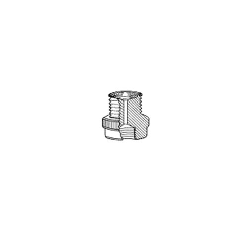 Adapter with #50 Thred to 3//8 Female NPT CAPFE O-Ring Retaining Ring ACE GLASS 5838-83 Series Filter 350 Micron Polypropylene PTFE Adapter with #50 Thred to 3//8 Female NPT Ace Glass Incorporated 100 Micron Polyethylene