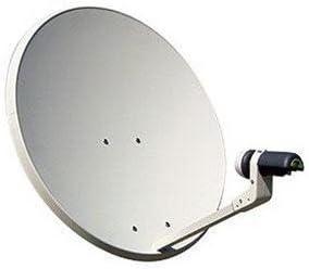 Televes - Antena parabolica off-set hierro disco 650 blanco ...