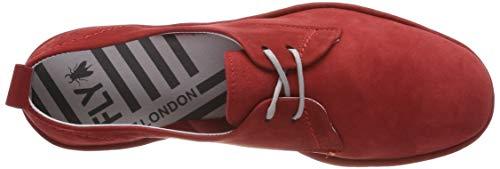 Cyno990fly Rojo Mujer lipstick Red Fly Para Zapatillas 005 London WgpnO5RZ5P
