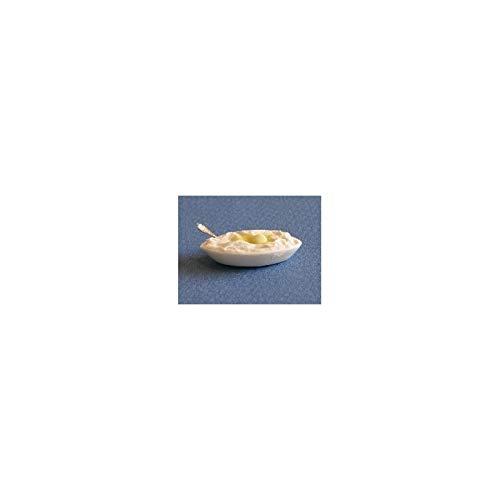 Dollhouse Miniature Mashed Potatoes Side Dish
