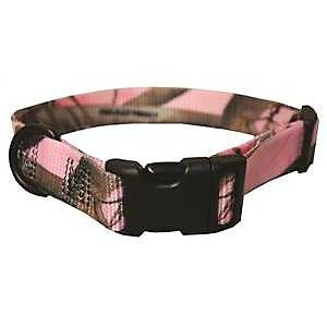 - Pink Realtree Camo Adjustable Dog Collar, XL (18