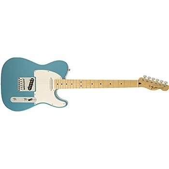 Fender Standard Telecaster Electric Guitar - Maple Fingerboard, Lake Placid Blue