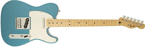 Fender 팬더 전기 기타 Standard Telecaster, Maple Fingerboard - Lake Placid Blue