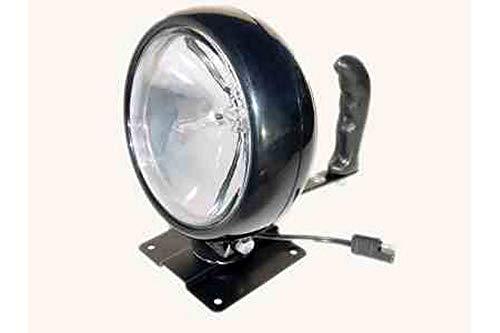 ControLight Permanent Mount Super Spot Light - 700'L X 60'W Beam - 12V - 16' Cord(-21'-Ring Terminal)