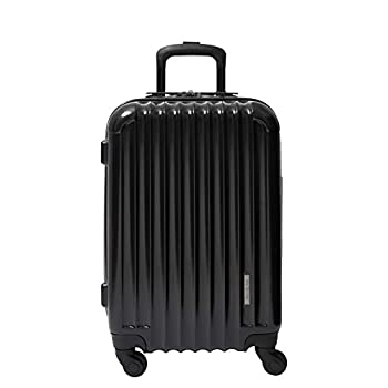 Image of Aer de Aer Premium Carry On Luggage Spinner - Super Light Weight, Maximum Capacity - The Carry On, Re-Imagined, Jet Black
